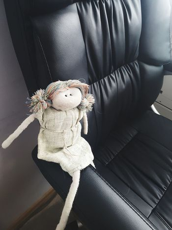 Doll In The Chair Toy Indoors  Stuffed Toy No People Doll Day Close-up