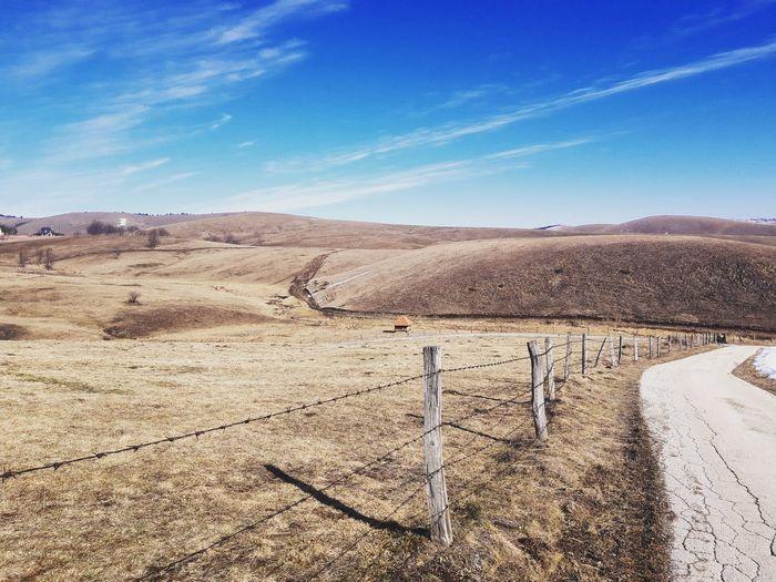 Mountine Sky Landscape