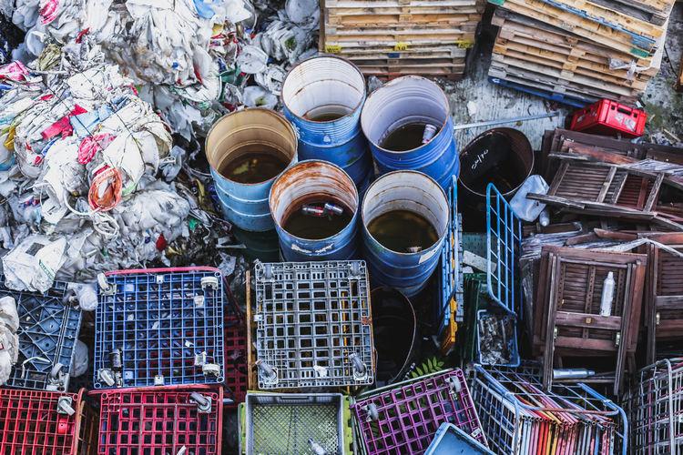 Waste Abandoned