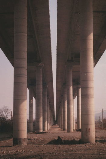 Architectural Column Architecture Built Structure 35mm Analogue Photography Film Is Not Dead Film Photography Symmetry
