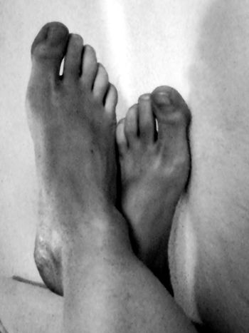 Human Foot Barefoot Human Leg Human Body Part Close-up Comfortable Monochrome Low Section Relaxation Lying Down Indoors