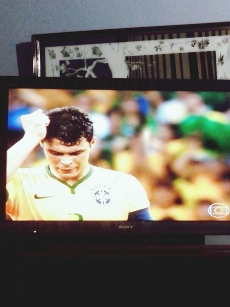So cute my babe. Thiago Silva Best Player Go Brazil I Believe