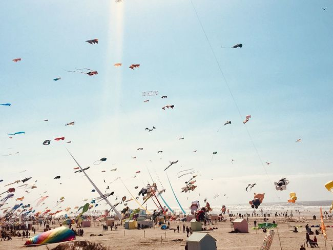 Kite festival. Berck Plage Childhood Sea Kite Festival Crowd Flying Large Group Of People Group Of People Real People Sky Leisure Activity Crowd Flying Large Group Of People Group Of People Real People Sky Leisure Activity Beach Land Nature Day Kite Vacations
