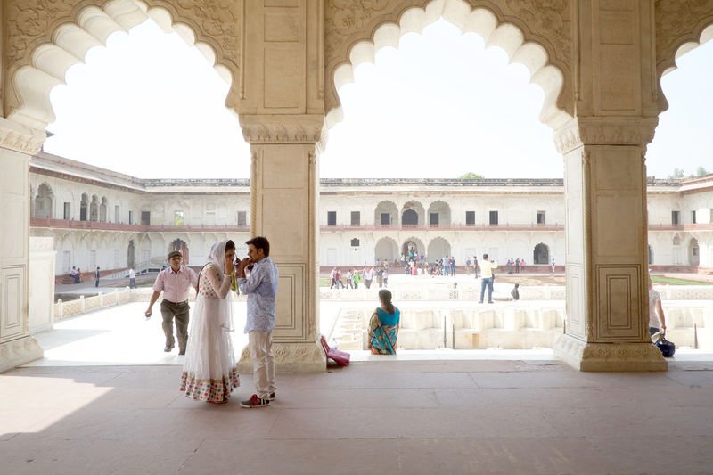 agra fort Group