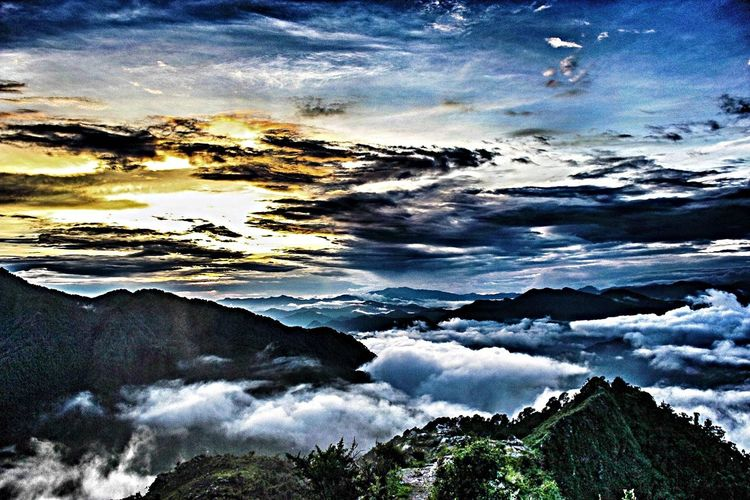 Landscape Mountains Peace