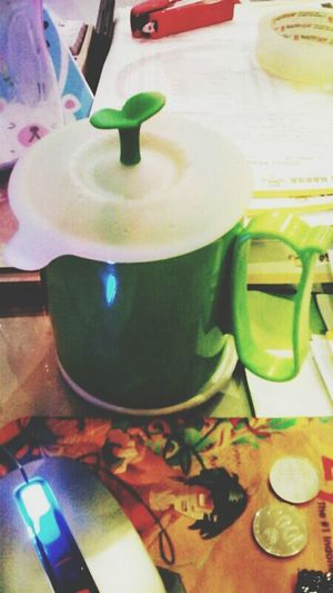 Go Green Glass Cup Leaf