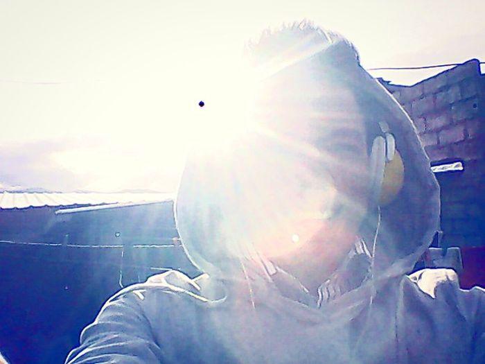 Soaking Up The Sun Relaxing Walking Around