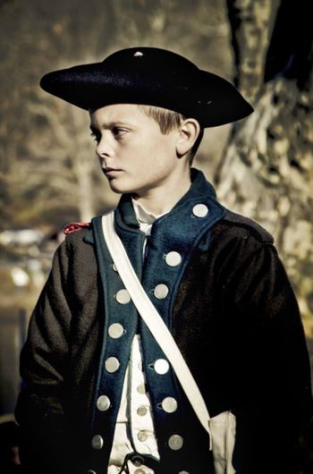 Young boy participating in a Reenactment of Washington's Crossing during the Battle of Trenton on December 25, 1776 Washington Crossing Reenactment Battle Battle Reenactment Battle Of Trenton Soldier Revolution Revolutionary Revolutionary War American Revolutionary War 1776 George Washington History Historic Costume Uniform Reenactors History Through The Lens  Portrait Portraits EyeEm Best Shots EyeEm EyeEm Gallery History Through The Lens