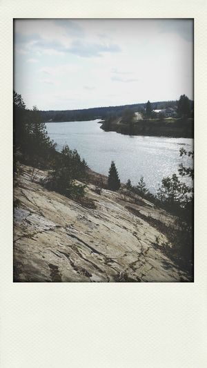my home town is kind of pretty :) Cobalt Vertical Poloroid #poloroid Pretty #nature