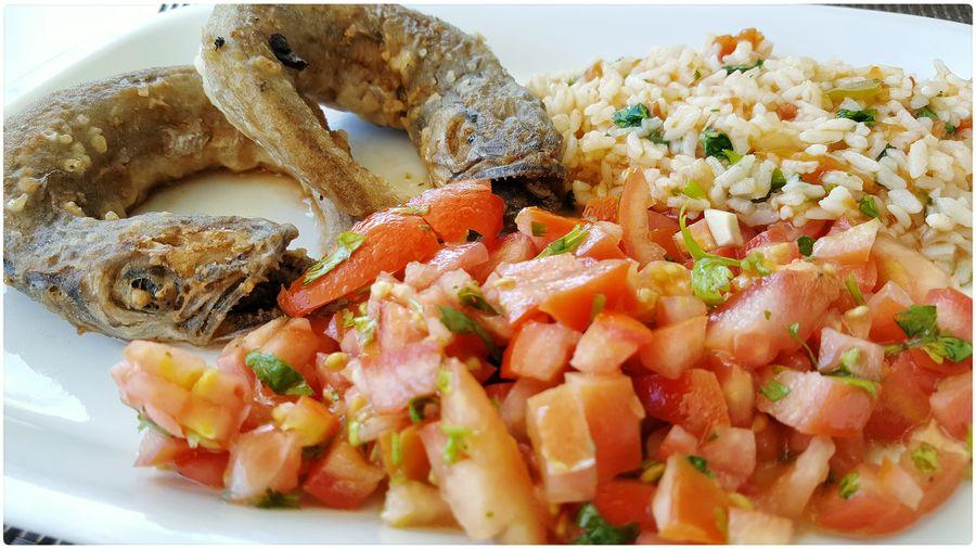 Food Foodporn Fish Tomato Rice