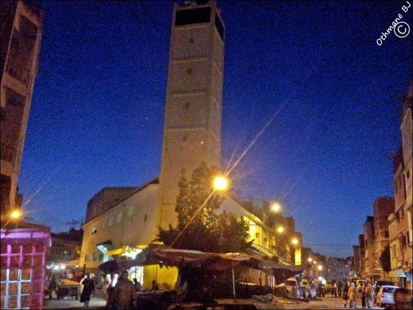 Mosque Quartier Populaire Maroc.