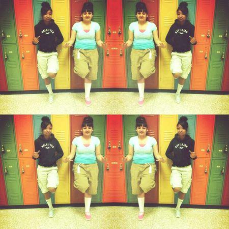 'me & my girl Kayla thugging ! #East side
