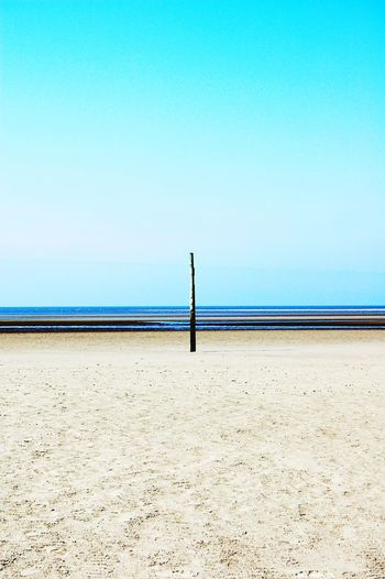 Lines. Sea Horizon Over Water Beach Blue Clear Sky Water Ebb Ebbe St Peter Ording Beauty In Nature Tranquil Scene Sand Nature No People Day Outdoors Wonderful Point Of View Architecture_collection Art Is Everywhere Tranquility Lines Light And Shadow Perspectives On Nature Lines And Shapes