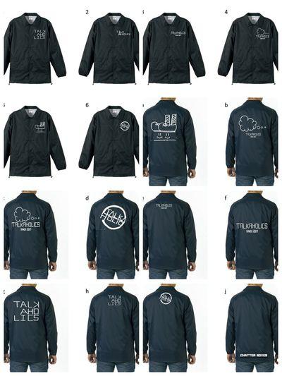 TALKAHOLICS No People Coach Jacket Original Jacket