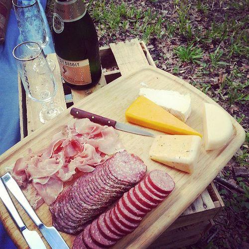 Bday dinner picnic Picnic Floridaissweatyandhot