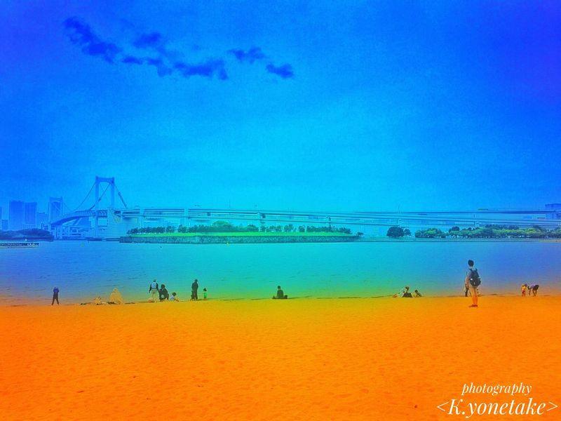 お台場の旅 Sea Beach Blue Travel City Life Natural Beauty Nature Nature Photography Diver City Tokyo Summer Rainbow Bridge Bridge Travel Destinations Iphone Camera Vacations Photo Photography EyeEm Best Shots EyeEm EyeEm Nature Lover Photoshoot Photographer 港区 お台場