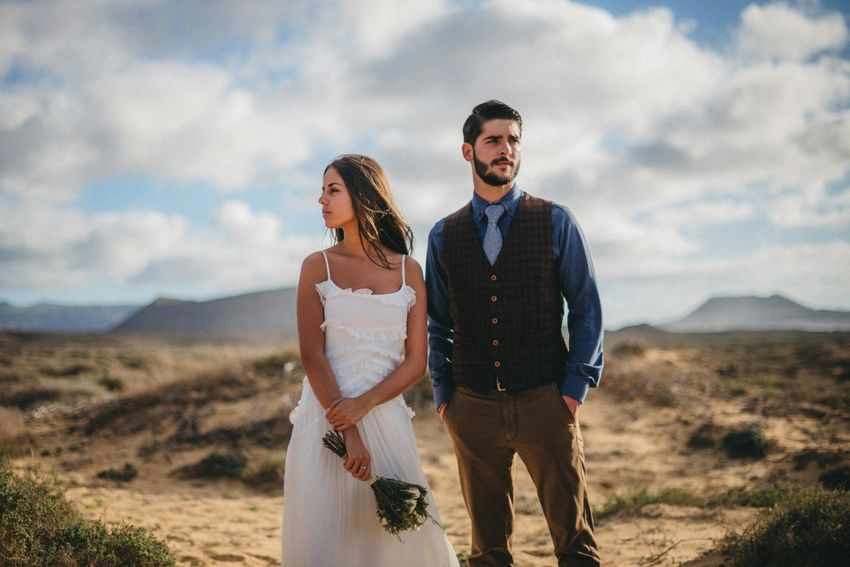 Canary Islands Destinationwedding Weddingdress Wedding Weddings Around The World Wedding Photography Couple Love Beach Lagraciosa