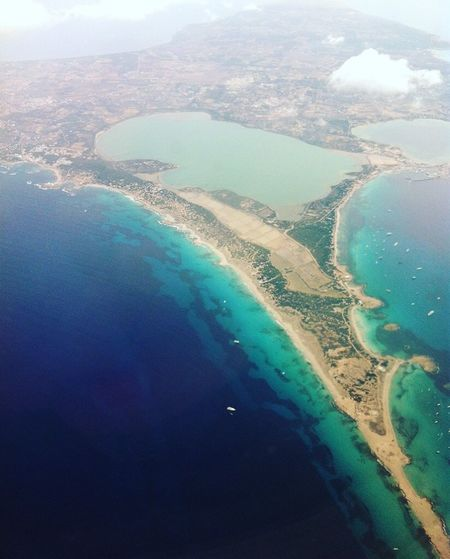 Formentera Travel Formentera Island Formentera Aerial View Landscape Scenics Sea Water Beauty In Nature Agriculture View Into Land No People Nature Tranquil Scene Tranquility Mountain Airplane Patchwork Landscape Flying Sky Airplane Wing Outdoors Day
