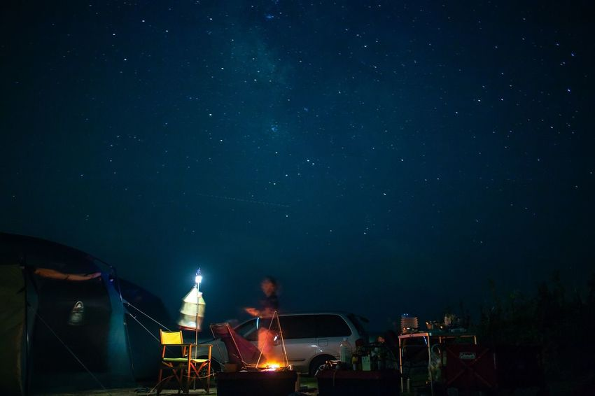 Camp night Camping Night Star - Space Sky Architecture Illuminated Building Exterior Built Structure Space Nature Scenics - Nature Outdoors Beauty In Nature Star Field Galaxy Science