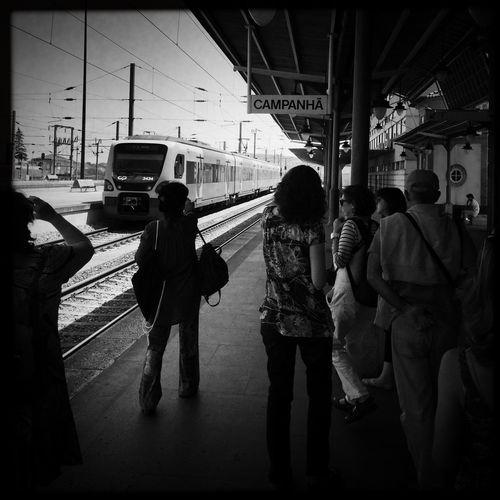 É o comboio não