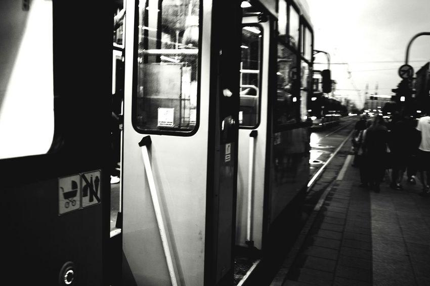 The Street Photographer - 2016 EyeEm Awards People Public Transportation Street Photography Streetphoto_bw Rush Hour People Watching Public Transport Door Transport Train Metro Blackandwhite Photography Black & White Black And White Collection  Black And White Night Photography Cities At Night Cities Of Europe My Commute