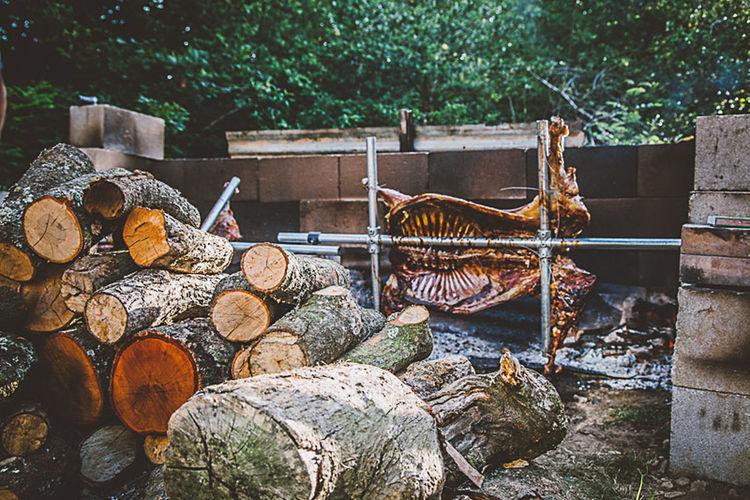 Spit Roast Spit Roasted Lamb Food Foodporn Farm Farm Life Outside Cooking Cooking Outside Smoked Food Smoked Log Fired Real Food Nancarrow Nancarrow Farm