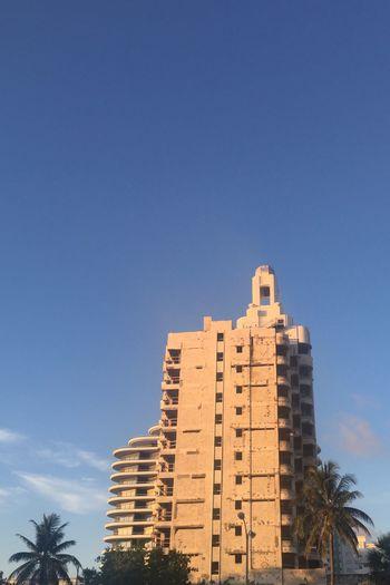Derelict Investment FAENA Art Faena Tower Collinsavenue Hotel View Miami Beach Building Exterior Buildings Sky_collection Blue Sky Hot Day