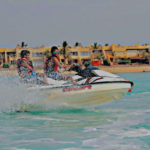 Jetski Swimming Jeddah Betch Swag بحر الدرة جتسكي جدة Street Fashion