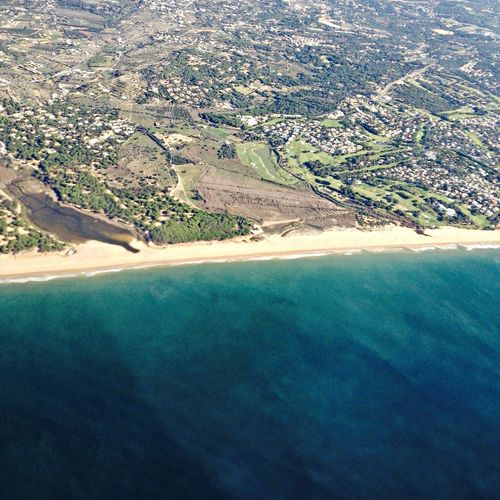 Home .  Faro From An Airplane Window  Lovely View