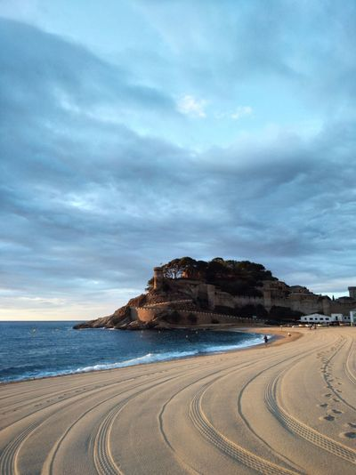 Coast resort city of europe. tossa de mar
