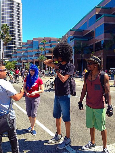 Taking Photos People CicLAVia Walking The Streets People Watching