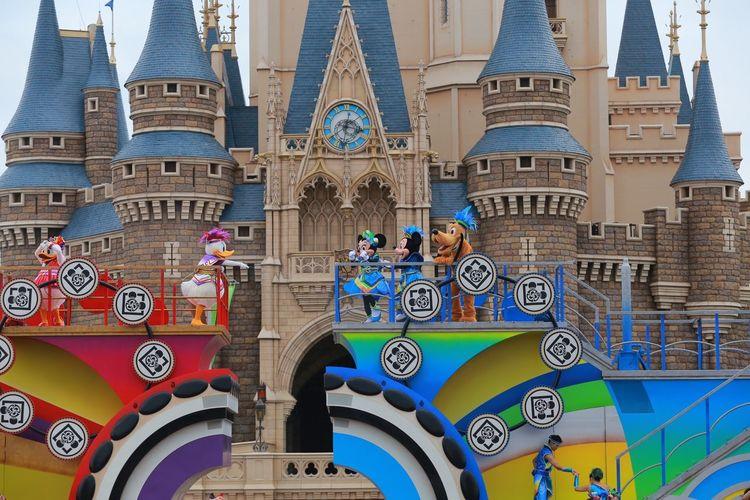 Daisy Tokyo Disney Land Japan Canon6d Minnie Mouse Micky Mouse Donald Duck Gunbu
