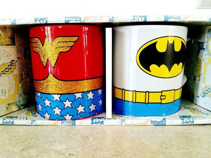 Justiceleague Batmanwonderwoman, Batman fave mugs Lookatthis Mugs