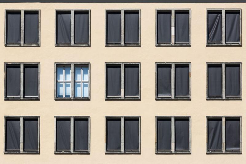 Full frame shot of building exterior