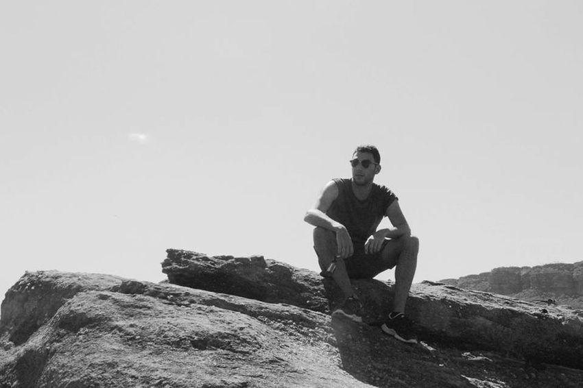 That's Me Enjoying The View Picoftheday Traveling Australia Hiking Hanging Out Enjoying Life Blackandwhite B&W Portrait