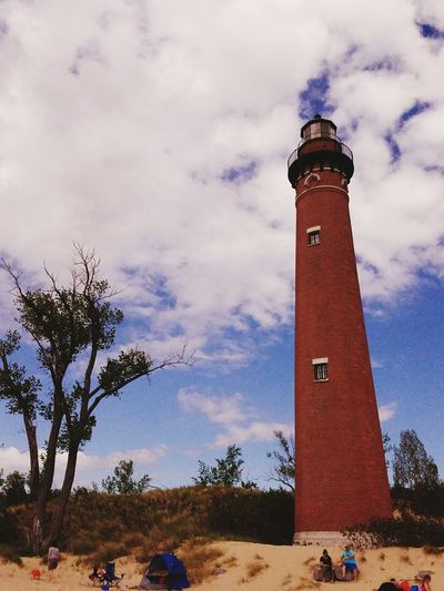 Little Sable Lighthouse Lighthouse Beachphotography Sunshine Lake Michigan Silverlake Silver Lake Mi