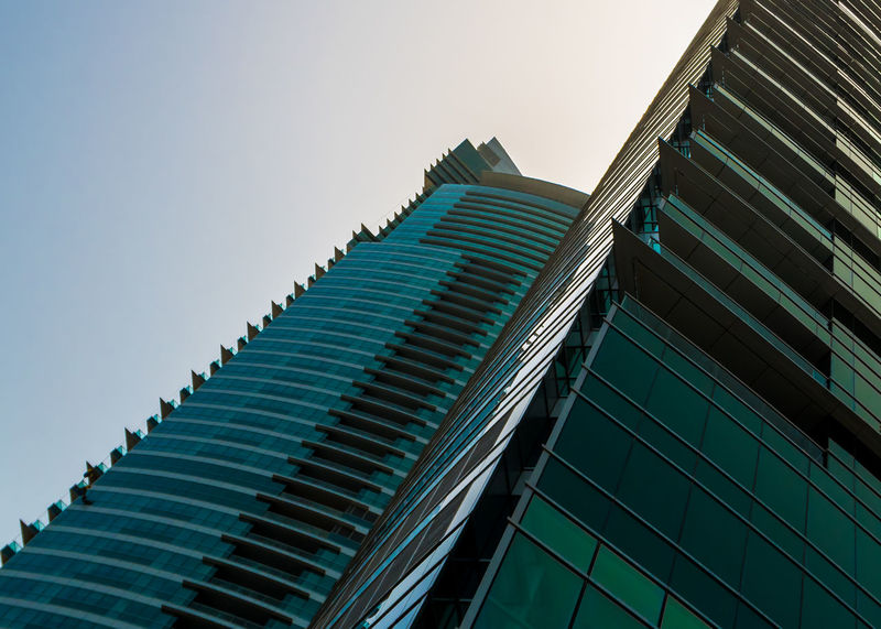 Marina Dubai Built Structure Architecture Building Exterior Building Low Angle View Sky Modern Office Building Exterior No People City Pattern Clear Sky Skyscraper Office Nature Day Outdoors Tall - High Tower Design