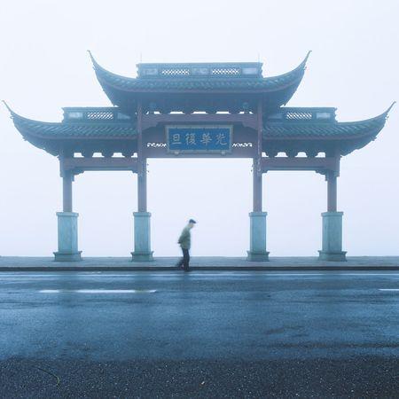 Hasselblad 500C/M 120mm 120 Film Film Fujifilm Hasselblad Building Exterior Architecture Fog Foggy Morning Foggy