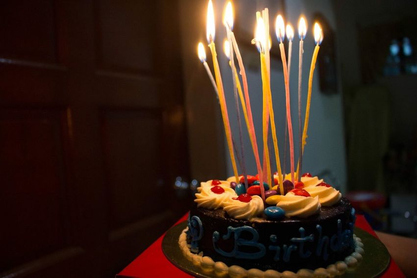 Birthday Cake Party Candle Candles Candlelight Flame Sparkle Photo Photography Surprise Dawn