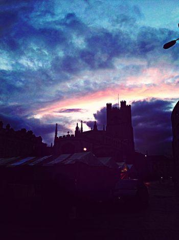 Cambridge Sky Light Evening Sky