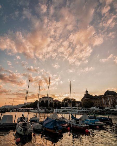 Boat harbor at