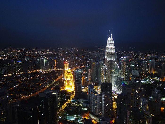 Taking Photos Kuala Lumpur Nightshot Suria KLCC Klcc