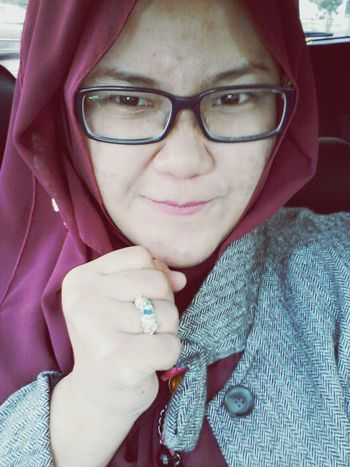 Hijab Ring Silver Ring Topaz