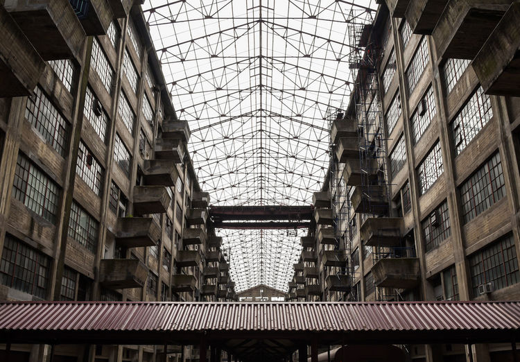 BKLYN Army Terminal lost in time. Photo by, Cooper Billington. Skylight Architecture Army Indoors  Lost In Time Photo Photography Structure