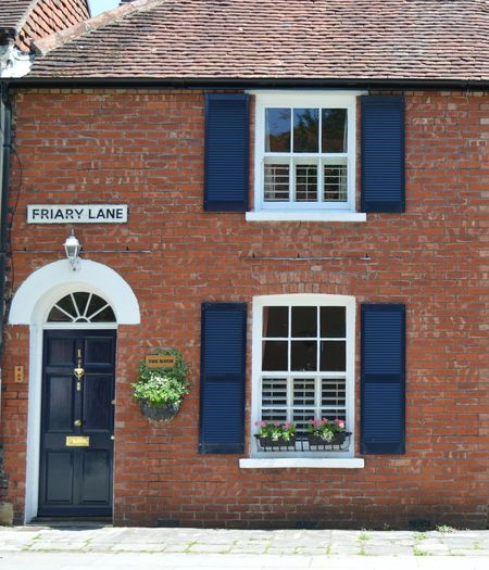 Architecture Brick Wall Building Building Exterior Built Structure Chichester Day Door England Façade Glass - Material House No People Residential Structure Wall West Sussex Window