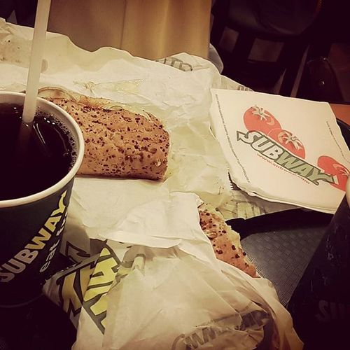 Let's get dinner @subway I'm ready to eat you!!! Coz I'm hungry.... 😁😄😄😄 Food Instafood Subway Penangfood