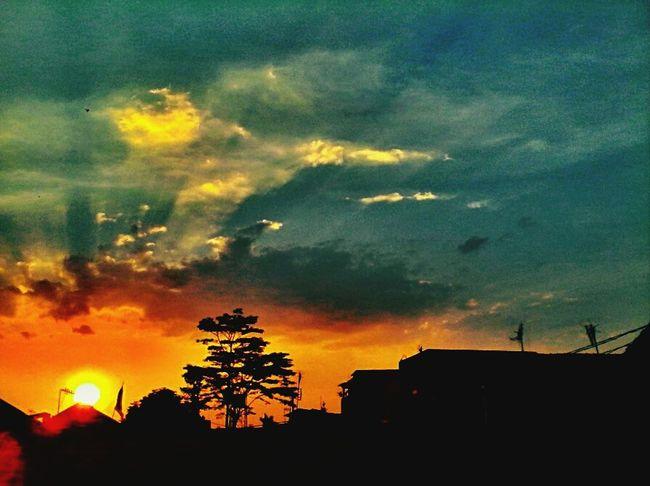 Sunset Taking Photos