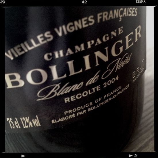 New delivery! The cult Blanc de Noirs Bollinger Vieilles Vignes Francaises 2004 ... The Champagne Bar By Richard Juhlin Bollinger Champagne Champagne Club
