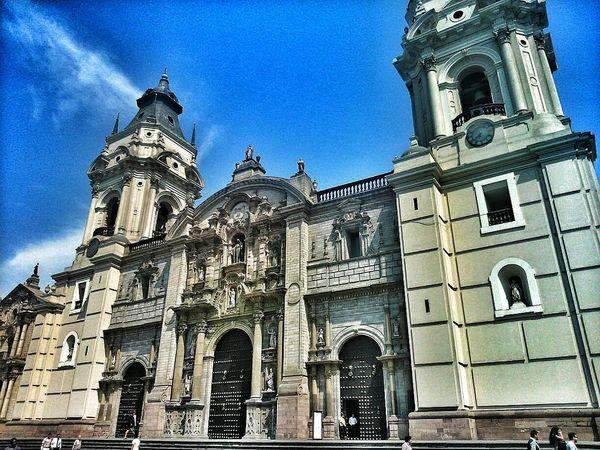 Church Torreón De La Catedral De Lima Lima Perú Folllowme working on my editiona