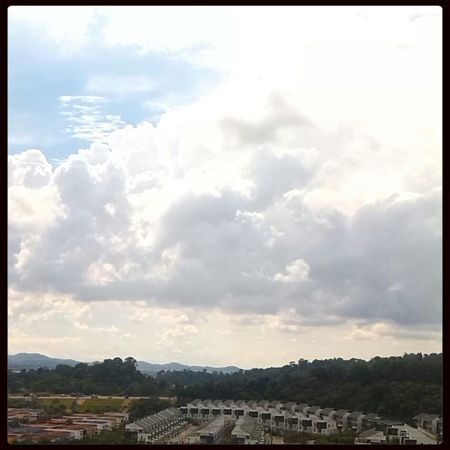 Beautiful Day Birdseye View Cloudporn Sky